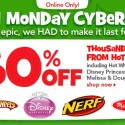 Toys R Us Green Monday Cyber Sale 2012