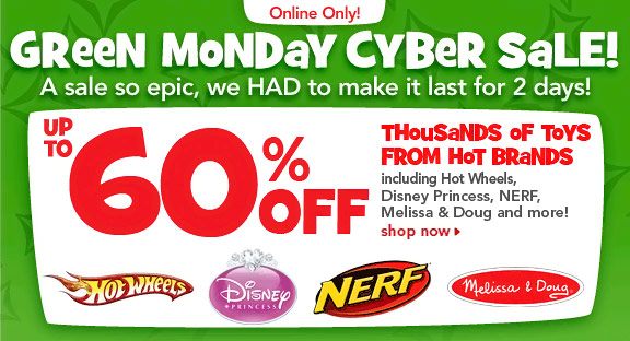 toys r us green monday cyber sale 2012. Black Bedroom Furniture Sets. Home Design Ideas