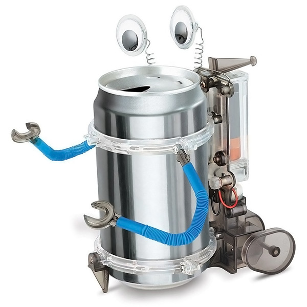 Toysmith 4M Tin Can Robot
