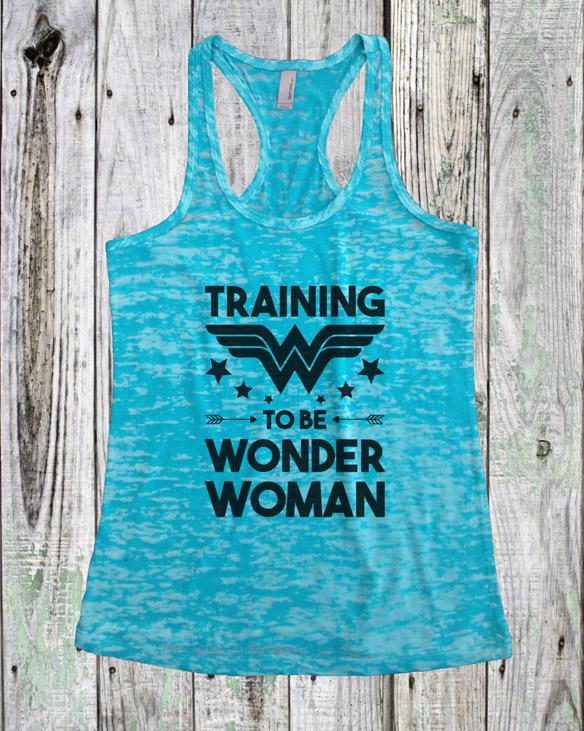 79a152dc990a7b  Training to be Wonder Woman  Tank Top