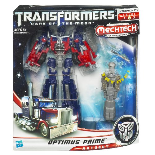 Transformers 3 Movie Dark of the Moon Optimus Prime Mechtech Weapons System Action Figure