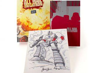 Transformers All Hail Megatron Black Label Edition