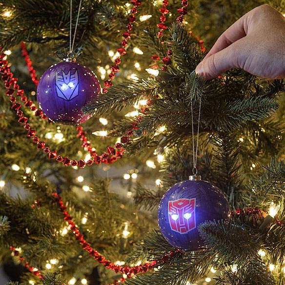 Transformers Christmas Ornaments