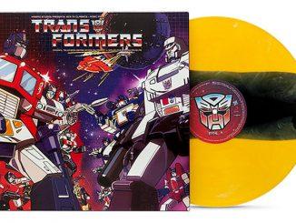 Transformers Classic Soundtrack BumbleBee Vinyl LP