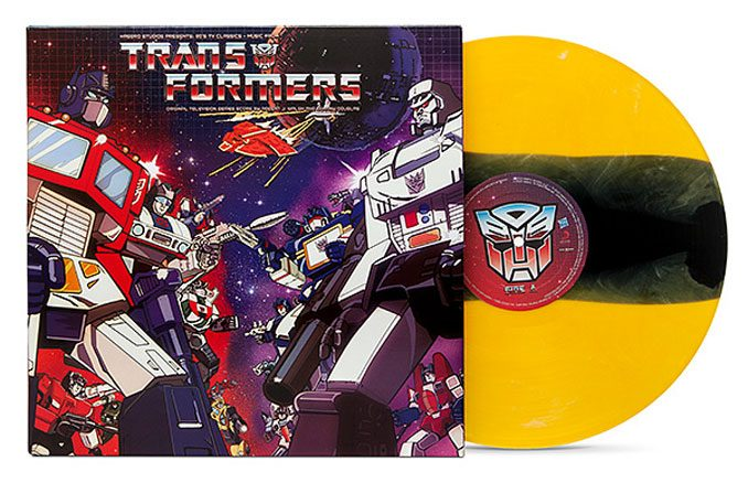 Transformers Classic Soundtrack BumbleBee Vinyl LP