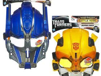 Transformers Dark of the Moon Battle Masks Set