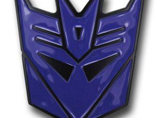 Transformers Decepticon Belt Buckle