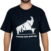 Transformers Grimlock Hate Push Ups Shirt