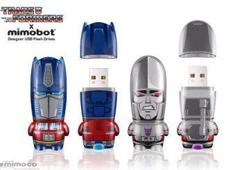 Transformers Mimobot Flash Drives