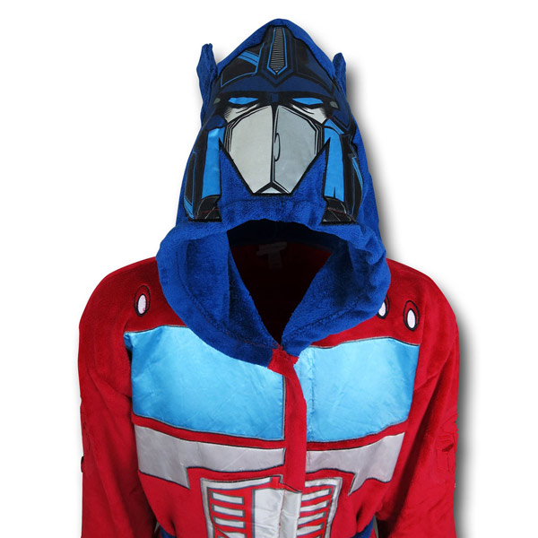 Transformers Optimus Prime Bath Robe