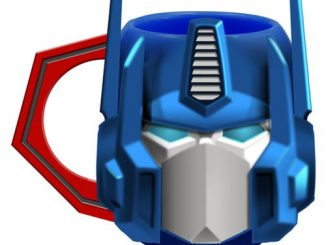 Transformers Optimus Prime Ceramic Sculpted Mug