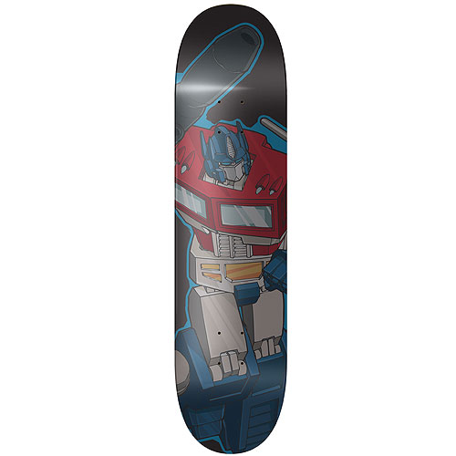 Transformers Optimus Prime Skateboard Deck