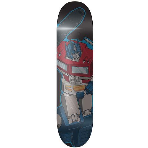 Transformers Optimus Prime Skateboard Deck