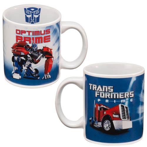 Transformers Prime Optimus Prime Ceramic Mug