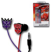 Transformers Rubber Symbol Earphones