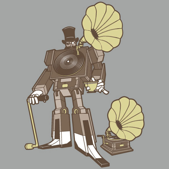 Transformers Victorian Soundwave T-Shirt