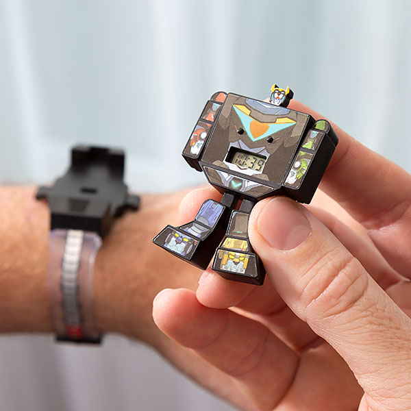 Transforming Voltron Souvenir Watch