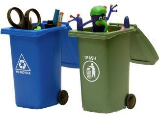 Trash & Recycling Mini Storage Bins