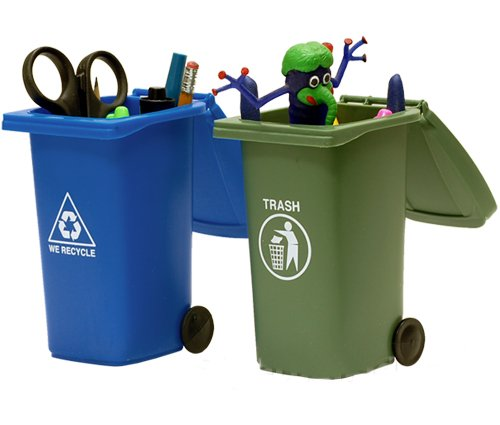 Trash Recycling Mini Storage Bins
