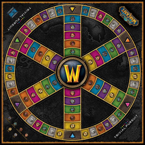 Trivial Pursuit World of Warcraft Edition Game