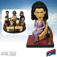 Troi Build-a-Bridge Deluxe Bobble Head