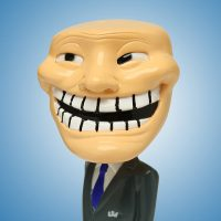 Trollface Toy Figurine