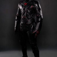 Tron Leather Motorcycle Suit