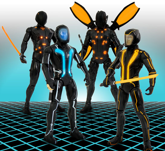 Tron Legacy Action Figures