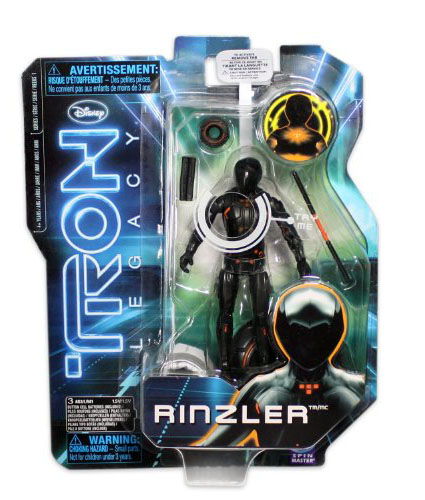 Tron Legacy Rinzler Action Figure Packaging