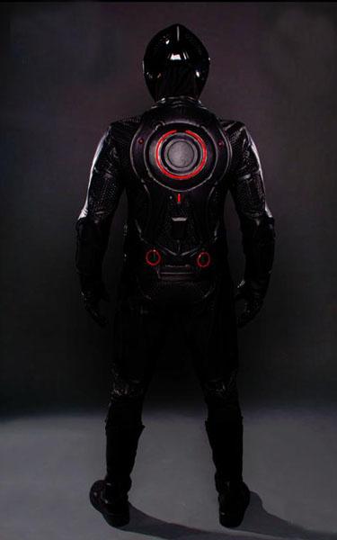 tron  u0026 rinzler light sensitive motorcycle suits