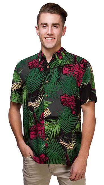 Tropical Deadpool Short Sleeve Shirt - Gadget Lovers
