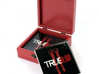 True Blood Fang Bite Coaster Set