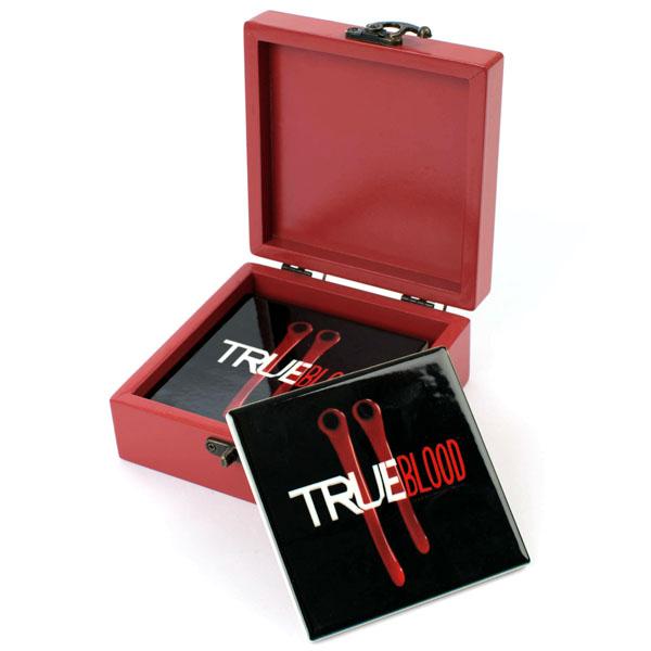 True Blood Fang Bite Coaster Set