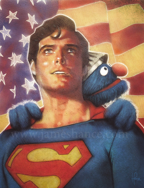 Truth Justice and the Letter S Art Print