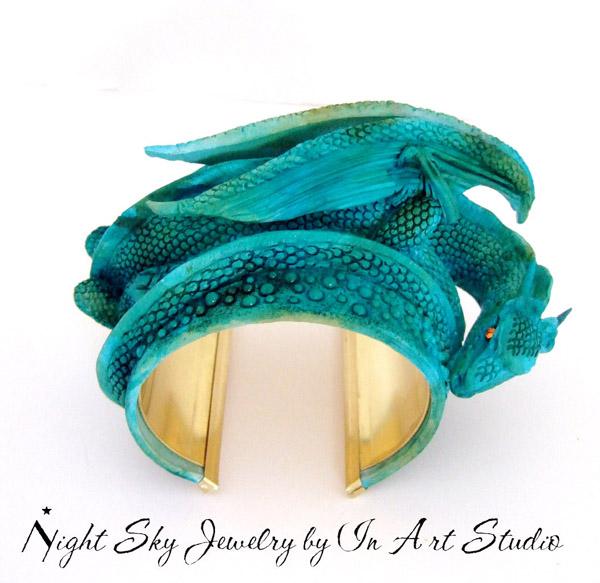 Turquoise Dragon Bracelet