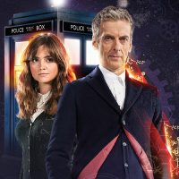Twelfth Doctor and Clara Maxi Poster