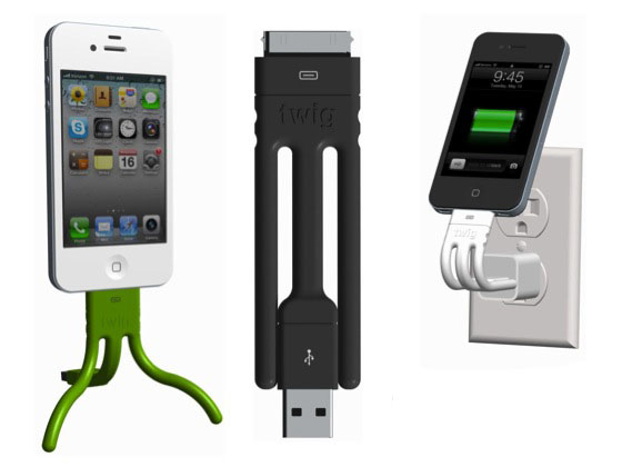 Twig Portable Cable Charger for iPhone