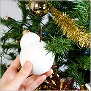 Twiggy Snowman Christmas Bauble