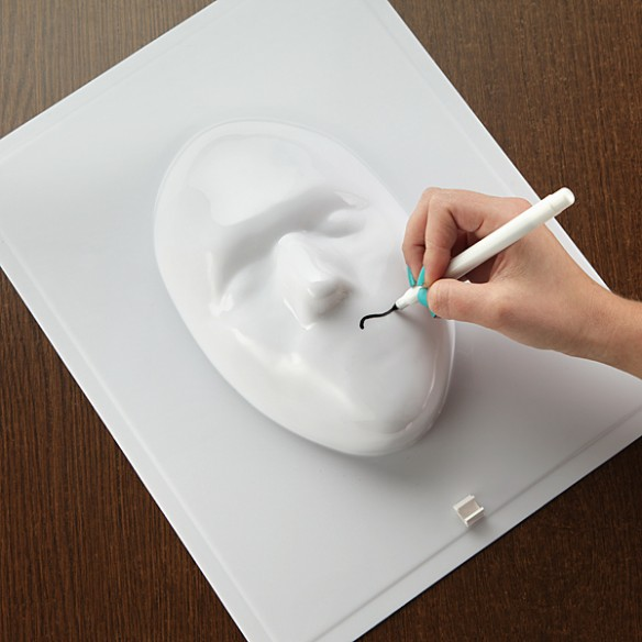 Twisted Boards 3D Face Whiteboard
