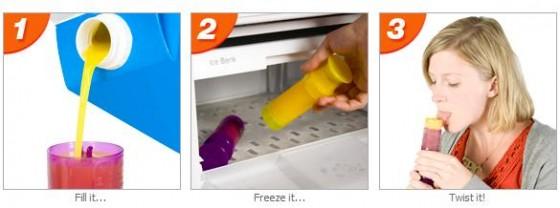 Twistix Ice Lolly Moulds 2