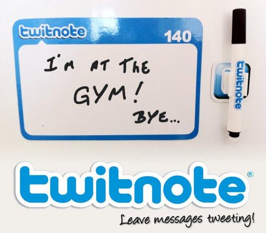 Twitnote Magnet Set