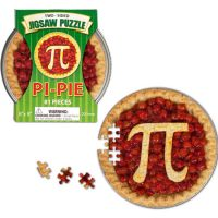 Two Sided Pi Pie Puzzle