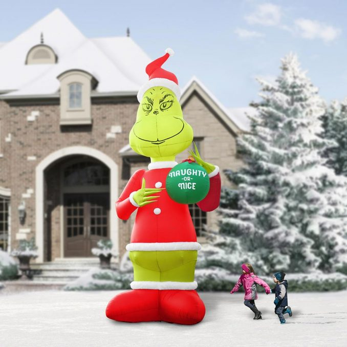 Two Story Inflatable Grinch