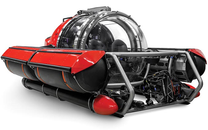 U-Boat Worx 5 Person Exploration Submarine