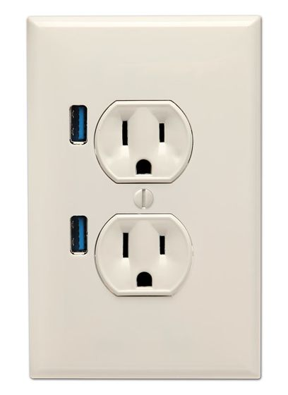 U-Socket USB Wall Plug