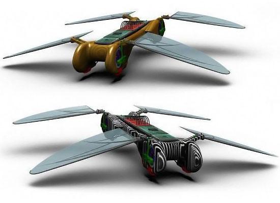 UAV Robot Dragonfly