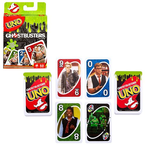 Uno 2016 Ghostbusters Movie Card Game