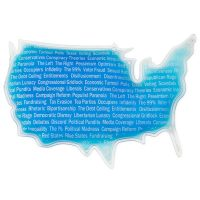 USA Shaped Ice Pack