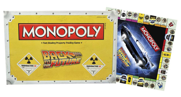 USAopoly Back to the Future Monopoly