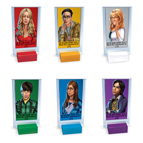 USAopoly Big Bang Theory Clue Game